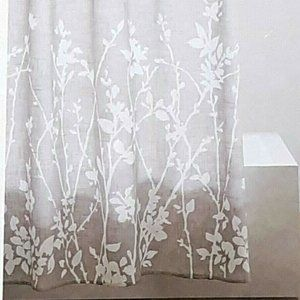 Project 62 Floral Print Shower Curtain Gray